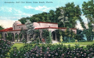 Everglades Club golf clubhouse.