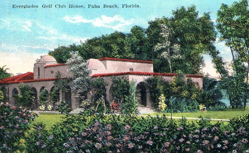 Everglades Club golf clubhouse.