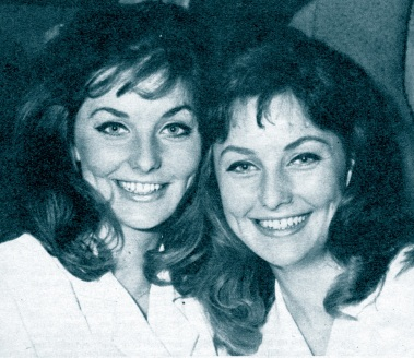 Pia and Mia Genberg, 1961