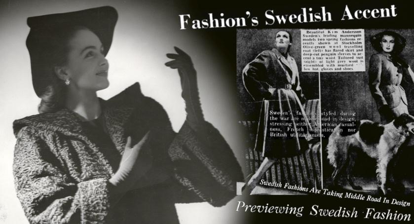 Hjordis Genberg. Fashion in Sweden