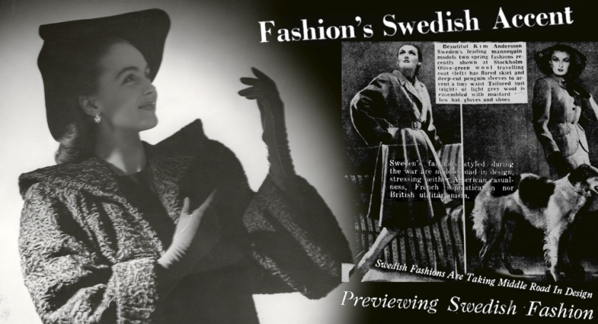 Hjordis Genberg. Fashion in Sweden
