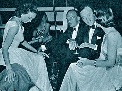 Hjordis Niven 1950