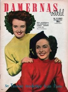 March 1945, Damernas värld.