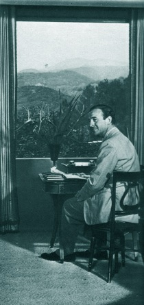 David Niven at The Pink House,