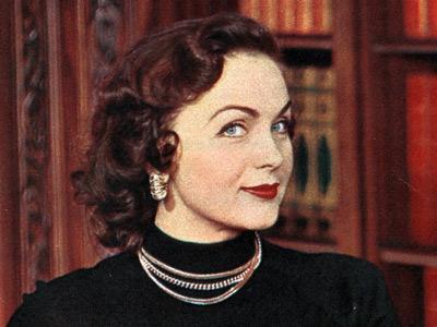 Hjordis Niven, 1952