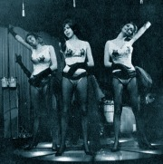Maj-lis and Gudrun Genberg performing at a nightclub in Stockholm, 1960