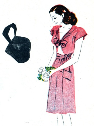 Hjördis Tersmeden. American fashions bought in 1945/1946