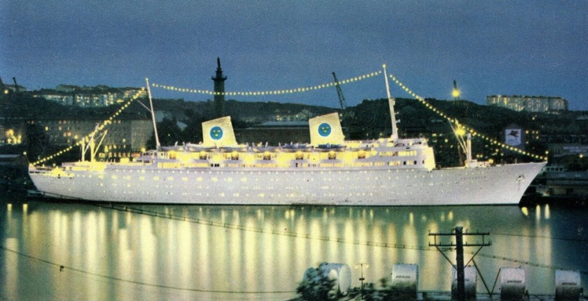 Swedish liner MS Gripsholm