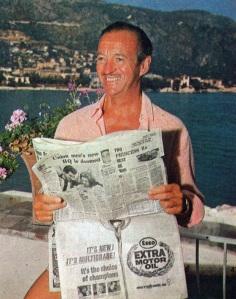David Niven at Lo Scoglietto, 1967-1970