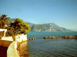 The Mediterranean viewed from Lo Scoglietto, 1999. Photo by David McKendrick