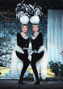 Pia and Mia Genberg performing as the Kessler twins in 'Scanzonatissimo'